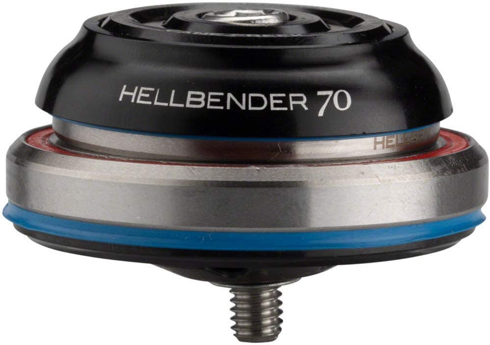 Cane Creek Hellbender 70 Complete Headset Black IS52//40 Lower IS42//28.6 Upper
