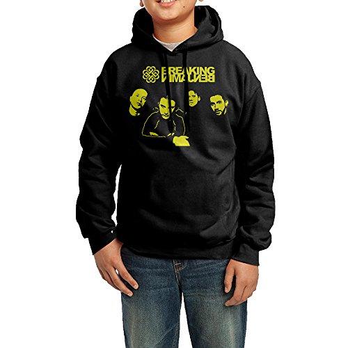 LULU Breaking Silhouette Benjamin Men's Geek Long Sleeve Sweater L - Customize Ban Ray