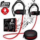 Bluetooth Headphones, Villain - Wireless Earbuds, Best Sports In-Ear Earphones, HD Stereo Sound