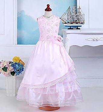 子供ドレス 超豪華ふわふわピンクドレス/七五三/お値打ち/高品質/