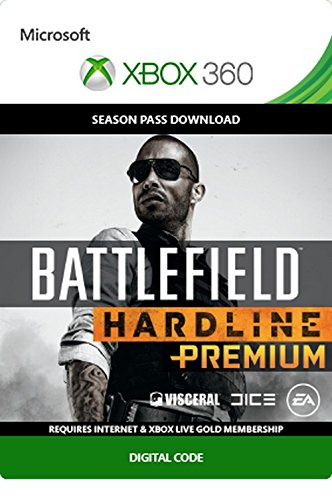Battlefield Hardline Premium Season Pass - Xbox 360 Digital Code