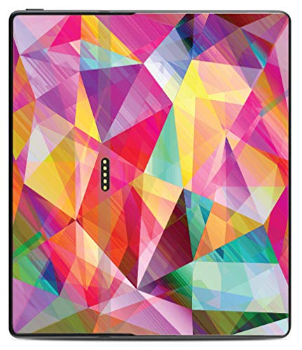 Oasis Colour Block (egeek amz Bright Rainbow Polygon Design Kindle Oasis Vinyl Sticker Decal Skin)