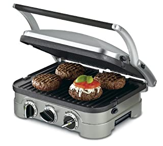 Cuisinart CGR-4NC 5-in-1 Griddler (B002YD99Y4) | Amazon price tracker / tracking, Amazon price history charts, Amazon price watches, Amazon price drop alerts