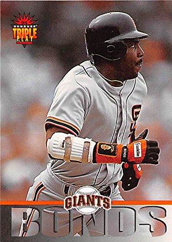 Barry Bonds Baseball Card San Francisco Giants Mvp 1994 Donruss