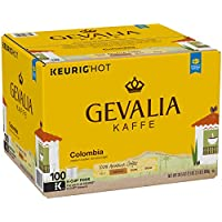 Deals on Gevalia Colombia Coffee, K-CUP Pods, 100 Count