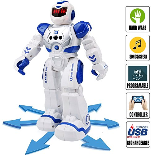 Senroke Remote Control RC Robot Toys, Dancing Robot Kit For Kids , Robotic Toys With Infrared Controller, Programmable by Senrokes