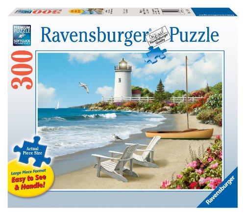 Ravensburger Sunlit Shores - 300 Pieces Large Format Puzzle