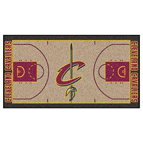 (FANMATS NBA Cleveland Cavaliers Nylon Face NBA Court)