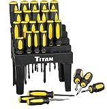 Titan Tools 17203 Screwdriver Set with Holder (26 Piece)