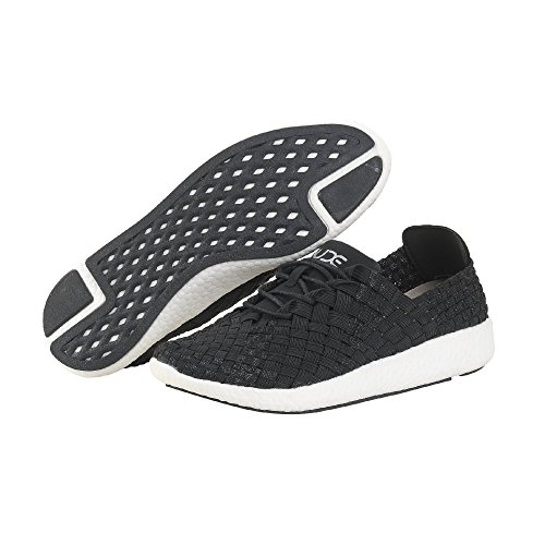 Dude Shoes Women's E-Last Joyce Black Glitter Lace-Up Black VYXNrosK