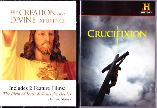 The History Channel : Crucifixion : How Jesus Died , the Birth of Jesus , Jesus the Healer : 3 Shows : 2 DVD Set : 195 Minutes