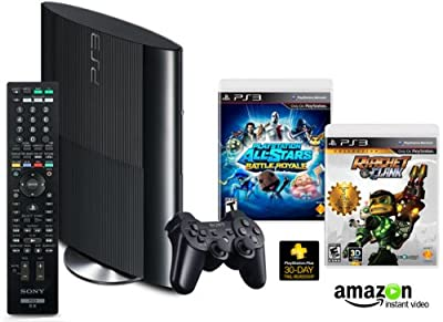 Ps3 250gb Amazon Exclusive Family Entertainment Bundle from Sony