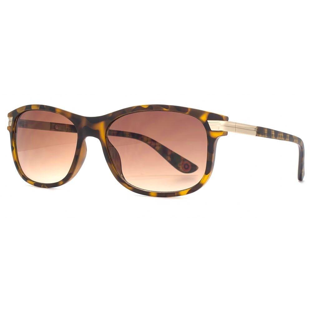 2e768116db Ben Sherman Portobello Rectangle Sunglasses in Matte Tortoiseshell BEN031  One Size Brown Gradient Matte Tortoiseshell  Amazon.co.uk  Clothing