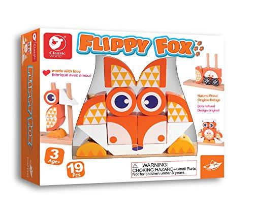 Fox Block (Flippy Fox Wooden Block Game)