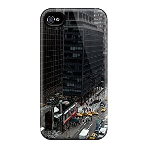 (iFI552fyXW)durable Protection Case Cover For Iphone 4/4s(a New York Street)