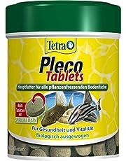 Tetra Pleco Tablets – näringsfritt huvudfoder för alla fräschare havsfiskar (t.ex. vågor), olika storlekar