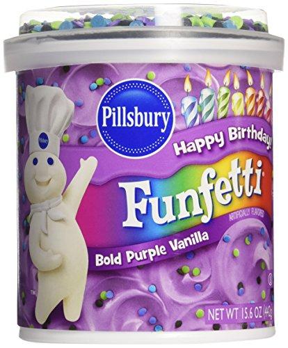 Pillsbury Frosting Purple vanilla, 15.6 oz