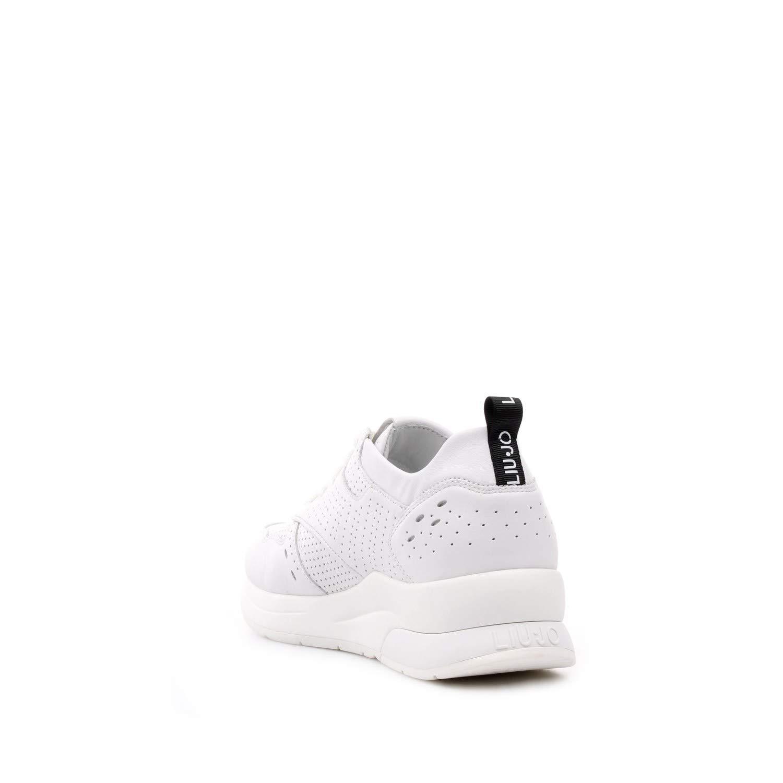 Liu Jo Damen Karlie 14 14 14 Calf Leather Weiß Turnschuhe ec0bdc