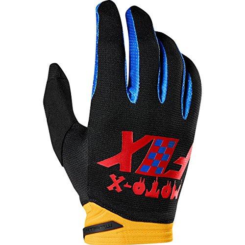 2019 Fox Racing Dirtpaw Czar Gloves-Black/Yellow-2XL