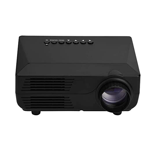Jadpes Mini proyector Home, 1920 * 1080P Mini proyector 150ANSI LM ...