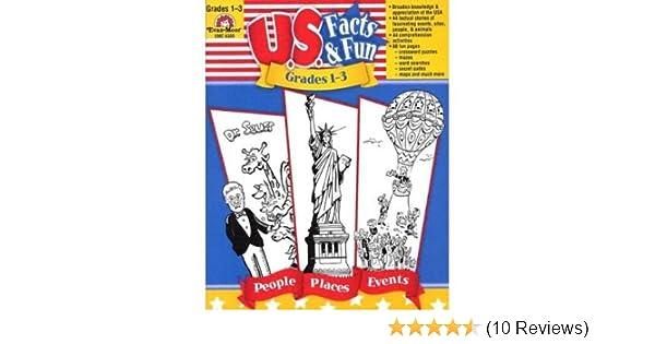 U S  Facts & Fun, Grades 1-3 (Evan-Moor) (Paperback) - Common