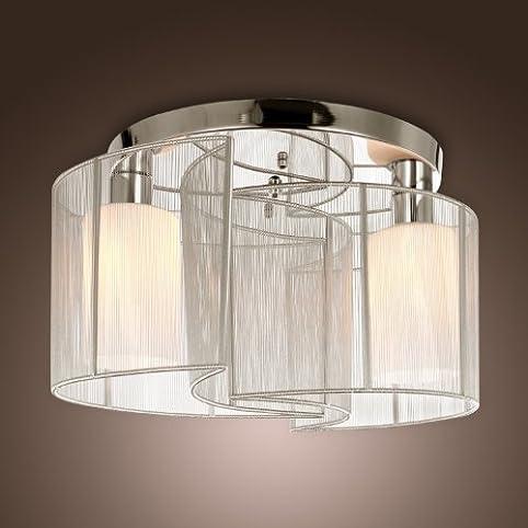 alfred® luce di soffitto camera da letto design moderno 2 luci ... - Illuminazione Soggiorno E Sala Da Pranzo 2