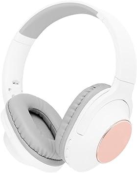 Akai A58069BG - Auriculares inalámbricos con micrófono Integrado para Samsung, iPhone, iPad, Reproductores de MP3 y tabletas: Amazon.es: Electrónica