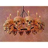 Skull Chandelier w/ 12 Skulls