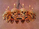 Skull Chandelier w/ 12 Skulls Review