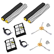 2 Set Debris Extractor brush +2 HEPA Filter +2 Side Brush Kit For iRobot Roomba 800 870 880 980 Vacuum Cleaner Accessories Parts