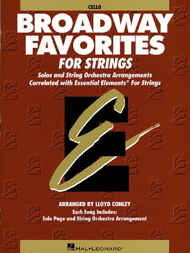 Essential Elements Movie Favorites for Strings Cello