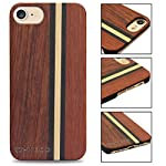 Yfwood compatible for iphone 7 wood case, real wood pattern high impact durable shockproof heavy duty back protective… 10 ❶ wooden iphone 7 case,iphone 8 case ,slim-fit, so it won't make your device bulky, or difficult to manage. Easy to access all ports,controls and buttons without removing the case. The case edges are fully covered and slightly raised to protect your screen from scratches ❷good drop protection with reinforced corners: reinforcement bumper covers all 4 corners that raised bezel to lift screen and camera off flat surface that the iphone 7 wood case offer the maximum protection for your iphone 7/8 when it dropped. ❸ ergonomic design-practical protector, this stylish and luxurious wood cover offers an enhanced grip and textured geometric design that adds even more protection to this iphone 7 case,iphone 8 case