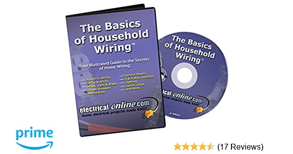 amazon com the basics of household wiring narrated marshall evans rh amazon com