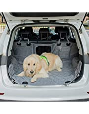 Waterproof Pet Car Cushion Belt Mesh Window Flap Anti-Skid Durable Car Cushion Protection Device is Suitable for Automobile SUV Truck