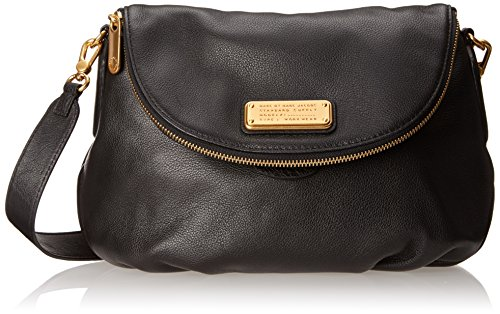 Marc by Marc Jacobs New Q Natasha Cross Body Bag, Black, One Size