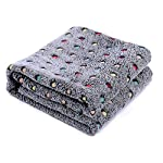 PAWZ Road Pet Dog Blanket Fleece Fabric Soft and Cute 4 Colors 4 Sizes 16
