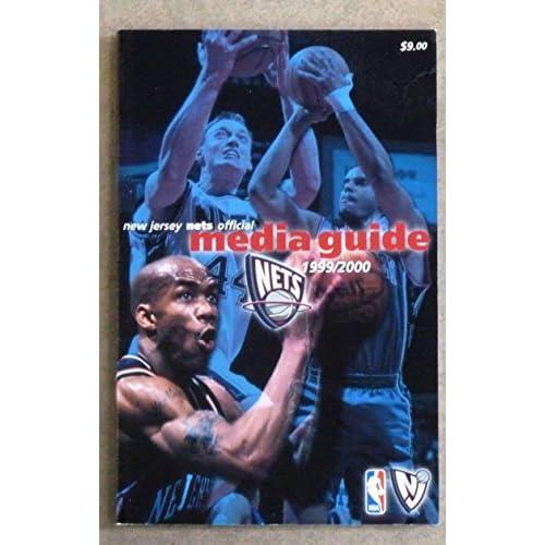 buy online 60264 6683f NEW JERSEY NETS NBA BASKETBALL MEDIA GUIDE - 1999 2000 ...