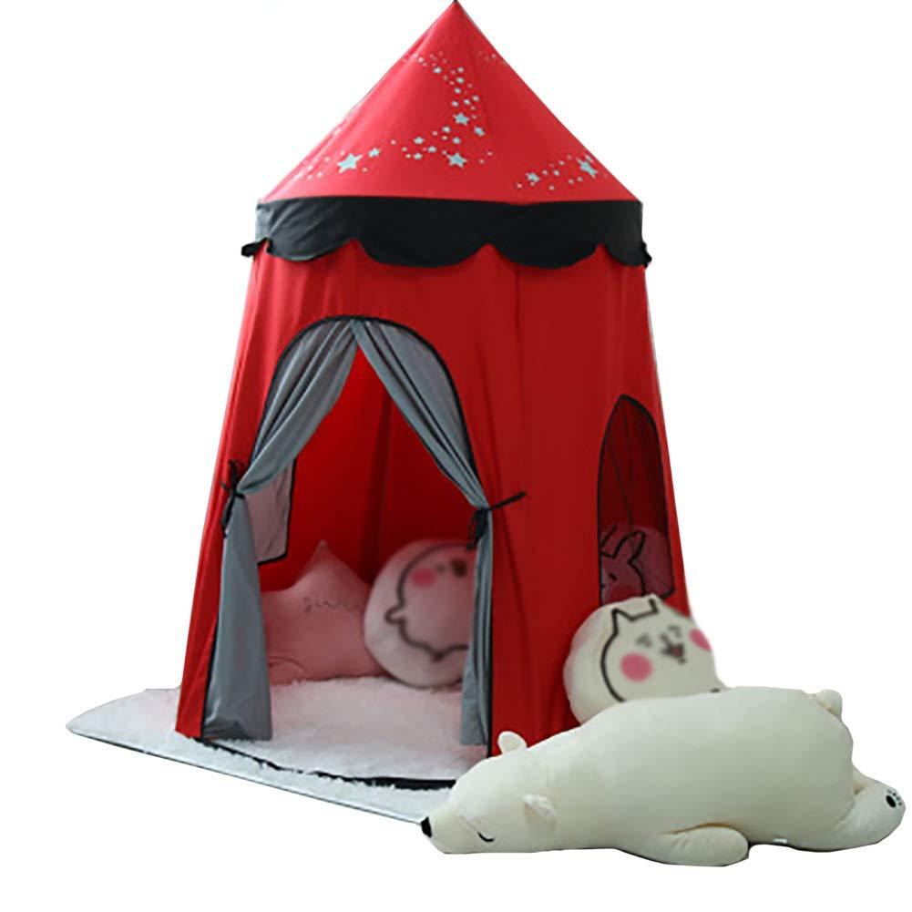 【内祝い】 -ベビーサークル B07Q7VYLRX 赤の女の子はマット、大きいスペースおもちゃのプレイハウス、含まれていないマペットおもちゃでテントをします B07Q7VYLRX, ハワイアンジュエリー アロアロ:53e117f3 --- a0267596.xsph.ru