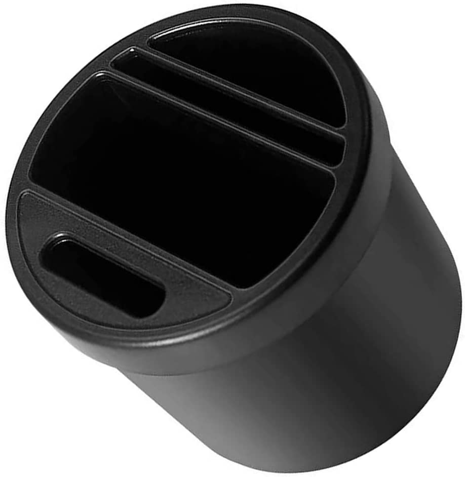 Republe Porte-gobelet Voiture Fente Organisateur Cartes de pi/èces Bo/îte de Rangement sous Bouteille deau en Plastique mont/é sur Trash Can
