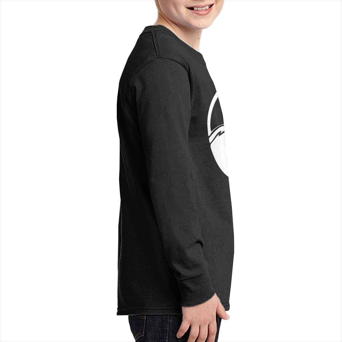 Teenagers Teen Girls Yin Yang Tree Printed Long Sleeve 100/% Cotton T-Shirts