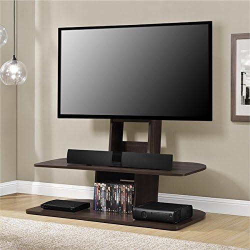 Mueble de Madera para Consola de TV de 165 cm, Color Nogal Oscuro y cómodo, para Almacenamiento de Muebles, Armario de televisión Plano con Soporte para Centro de Entretenimiento Plasma: Amazon.es: Juguetes