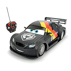 Disney Cars 1:24 Scale Max Schnell/R Remote Controlled Car (Multi-Colour)