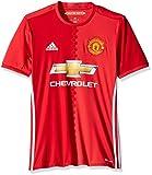 International Soccer Manchester United Men's Jersey, XX-Large, Red/White