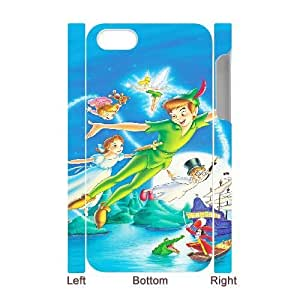 Peter Pan For iphone4 4S 3D Cell Phone Case White BTY641717