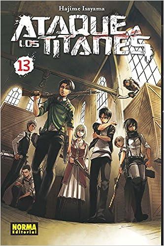 ATAQUE A LOS TITANES 13 Shonen - Ataque A Los Titanes: Amazon.es: Isayama, Hajime, Cordukes Salleras, Olinda: Libros