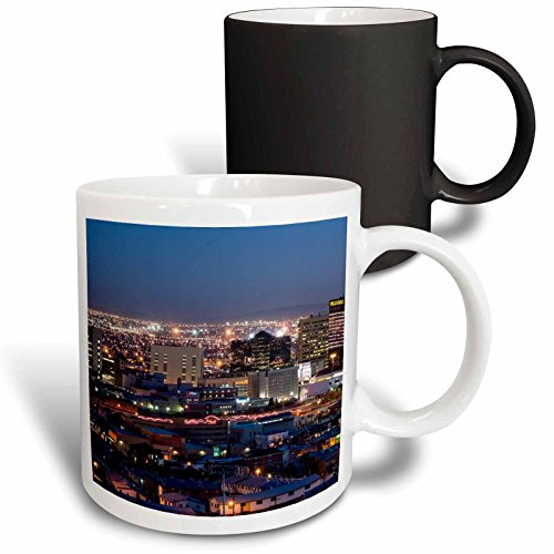 3dRose Cities Of The World - City Of El Paso, Texas - 11oz Magic Transforming Mug - Paso Outlets El Texas