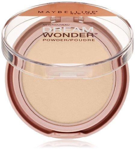 Beige Pressed Foundation - Maybelline Dream Wonder Powder, Sandy Beige, 0.19 oz.