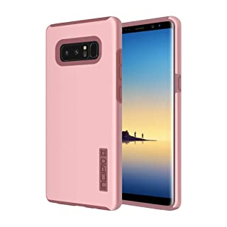 Incipio DualPro Samsung Galaxy Note 8 Case with Shock-Absorbing Inner Core & Protective Outer Shell for Samsung Galaxy Note 8 - Rose Quartz