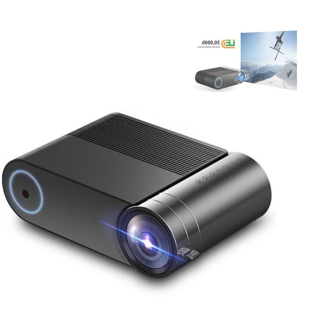 YG420ミニLEDプロジェクターネイティブ1280×720 HDポータブルビデオビーマーワイヤレスWiFiマルチスクリーン3D Proyector B07SG577MW