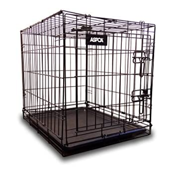 Amazon Com Aspca As6012s Metal Pet Crate Kennel With